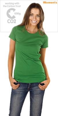 オーガニックコットンTシャツE04画像