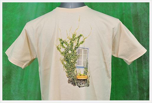 実際の印刷Tシャツ