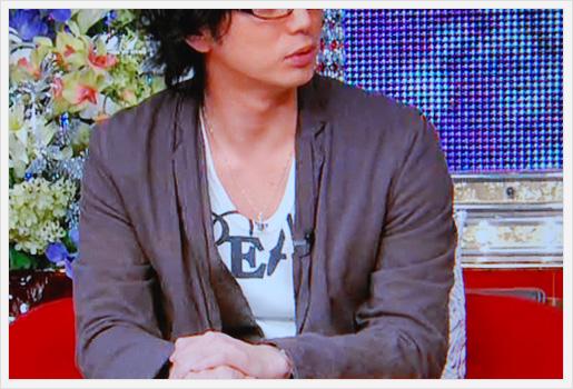 松本潤さんのTシャツ