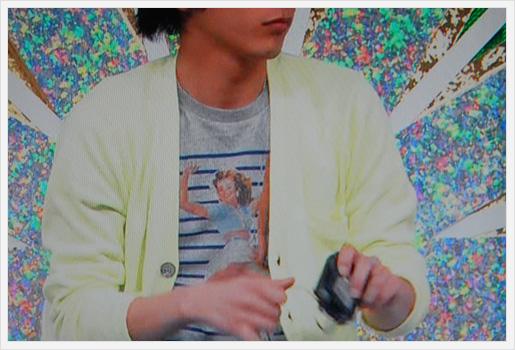 二宮和也さんのTシャツ