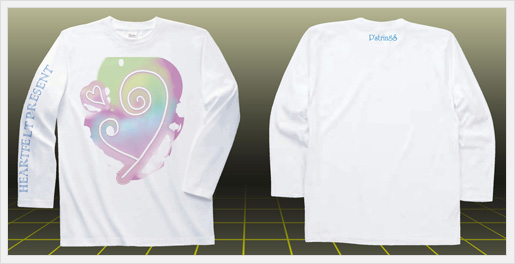 綺麗なカラーのプレゼントTシャツ