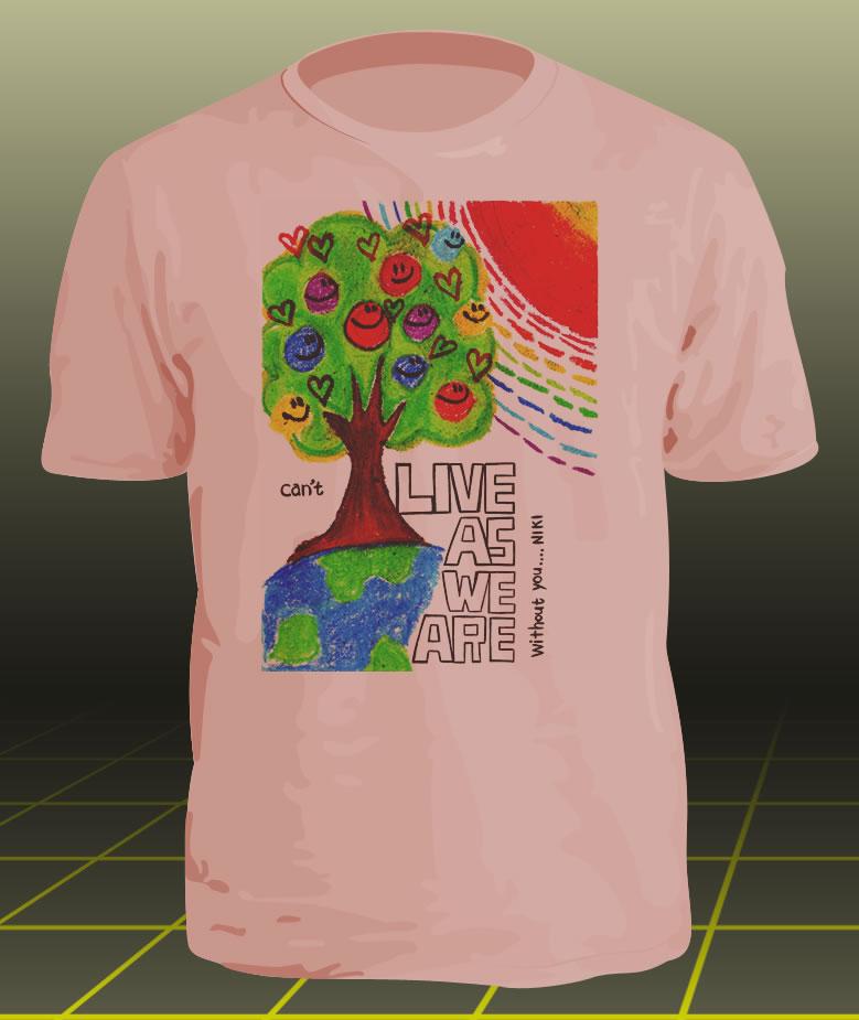 学園祭オリジナルTシャツ